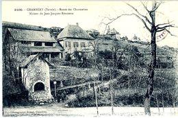 CPA 73 CHAMBERY La Route Des Charmettes - Maison De Jean-Jacques ROUSSEAU (NV) - Chambery