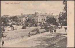 Town Hall, Meerut, India, C.1910 - Postcard - India