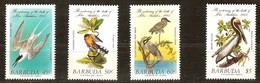 Barbuda 1985 Yvertn° 741-744  *** MNH Cote 8,25 Euro  Fauna Oiseaux Vogels Birds Audubon - Antigua Et Barbuda (1981-...)