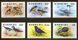 Barbuda 1976 Yvertn° 251-256  *** MNH Cote 26,50 Euro  Fauna Oiseaux Vogels Birds - Antigua Et Barbuda (1981-...)