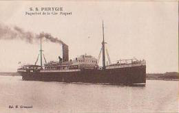 Paquebot        160         Paquebot S.S.  PHRYGIE - Dampfer