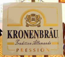 Plaque KRONENBRÄU  Reinheitsgebot 40x30 Cm - Signs