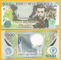 Colombia 5000 Pesos P-452r 2013 UNC - Colombie