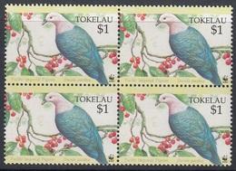 Tokelau - WWF / BIRDS 1995 MNH - Tokelau