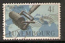 006422 Luxembourg 1949 UPU 4F FU - Luxembourg
