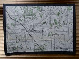 Plan Ancien De AMIFONTAINE, Et De PROUVAIS, Datant De 1922. - Cartes Géographiques