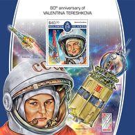 Solomon Islands. 2017 80th Anniversary Of Valentina Tereshkova. (513b) - Space