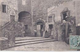 SINALUNGA - SIENA - PIAZZA BIANCALANA  - VIAGGIATA 1908 BELLA - Italie