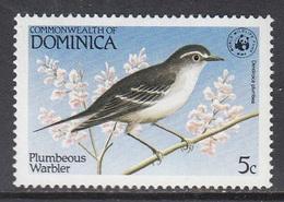 Dominica - WWF / BIRD 1984 MNH - Dominica (1978-...)
