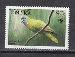 Dominica - WWF / BIRD / PARROT 1984 MH - Dominica (1978-...)
