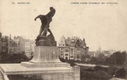 BELGIQUE - BRUXELLES - Avenue Louise (Tombeau Des Lutteurs) N°63. - Avenues, Boulevards