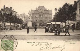 BELGIQUE - BRUXELLES - Place Anneessens (n°53). - Marktpleinen, Pleinen
