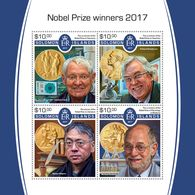 Solomon Islands. 2017  Nobel Prize Winners. (515a) - Premio Nobel