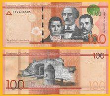 Dominican Republic 100 Pesos Dominicanos P-190c 2016 UNC - Dominicana
