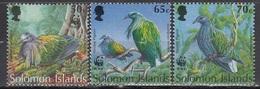 Solomon Islands - WWF / BIRDS 1993 MNH - Solomon Islands (1978-...)