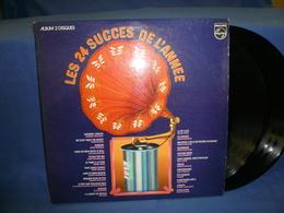 Les 24 Succes De L'Annee 33tx2 Vinyles Compilation - Compilations