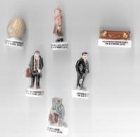 Fèves - Lot De 6 Fèves - TM & WBEI.(s16)- Les Animaux Fantastiques-Demiguise-Jacob Kowalski-Newt Scamander-Queenie Gold- - Cartoons