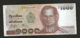 THAILAND / TAILANDIA - 1000 BAHT / RAMA IX - Thailand