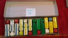 SÉSAME.Boite Rare De 12 Camions BERLIET,MERCEDES,BERNARD..etc..(lot N°1) Sésame Made In France - Toy Memorabilia