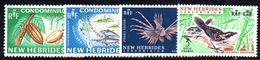 T138 - NEW HEBRIDES 1968, Serie N. 219-222 MNH *** - Nuevos