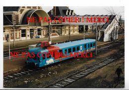Le Furet Du Morvan - Autorail Picasso - Gare à Identifier - Photo 9X14cm Env - Chemin De Fer