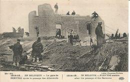 ARMEE BELGE -  1914 1915 - STATION PERVIJZE - Weltkrieg 1914-18