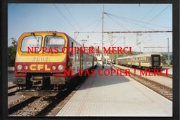 Train En Gare - Wasserbillig Luxembourg - - Photo 10X15cm Env - Chemin De Fer