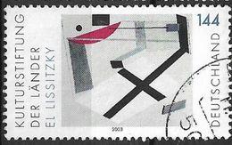 2003 Deutschland Allem. Fed. Germany  Mi. 2283 -used   Proun 30t; Gemälde Von El Lissitzky - Gebraucht