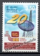 Sri Lanka 1999 Yvert 1184, 20th Anniv Of The Independent Television Network LTD - MNH - Sri Lanka (Ceylon) (1948-...)