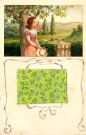 [DC11535] CPA - BELLA CARTOLINA ILLUSTRATA CON BUSTA IN RILIEVO CHE SI APRE - Viaggiata - Old Postcard - Cartoline