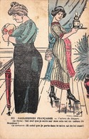 Illustration - Gauloiseries Françaises - Cadeau De Pâques - Oeuf Servante - Illustratoren & Fotografen