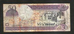 REPUBLICA DOMINICANA - BANCO CENTRAL - 50 PESOS (2002) - Repubblica Dominicana