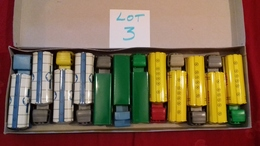 SÉSAME.Boite Rare De 12 Camions BERLIET,MERCEDES,BERNARD..etc..(lot N°3) Sésame Made In France - Jouets Anciens