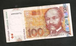 CROATIA - NATIONAL BANK -  100 Kuna (2002) - - Croatia