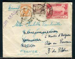 Myanmar - Enveloppe De Rangoon Pour La France En 1950 , Affranchissement Recto Et Verso - Ref F115 - Myanmar (Burma 1948-...)
