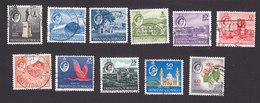 Trinidad And Tobago, Scott #89-91, 93-100, Used, Scenes Of Trinidad And Tobago, Issued 1960 - Trinidad & Tobago (...-1961)