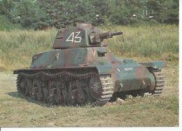 492203 - CHAR LEGER FRANCAIS HOTCHKISS H 39 , CANON DE 37mm - 1939 - Matériel