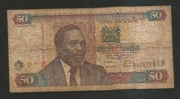 KENYA - CENTRAL BANK Of KENYA - 50 SHILLINGS / SHILINGI (2004) - KENYATTA - Kenya