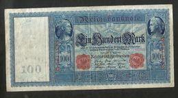 DEUTSCHES REICH / GERMANY - 100 MARK (Berlin 1910) - [ 2] 1871-1918 : Impero Tedesco