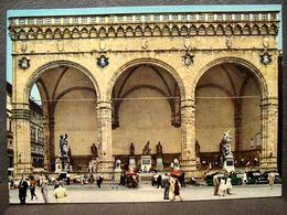 (FG.R69) FIRENZE - LOGGIA DELLA SIGNORIA Animata (viaggiata 1969) - Firenze (Florence)