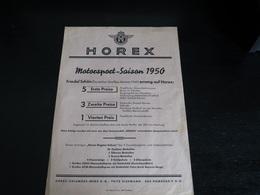 Horex Werbeblatt - Advertising