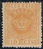 Macau, 1884, # 2 Dent. 12 1/2, MNG - Unused Stamps