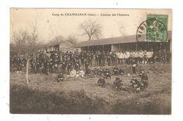 CPA Militaria 38 Camp De CHAMBARAN  Cuisines Des Chasseurs 1913 - Caserme