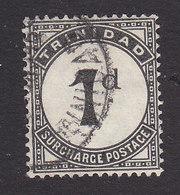 Trinidad And Tobago, Scott #J1, Used, Postage Due, Issued 1923 - Trinidad & Tobago (...-1961)