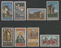Greece 1963 Millenium Of Mount Athos MNH** - Unused Stamps