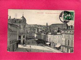 55 Meuse, Bar-le-Duc, Rue Rousseau Et Entre-Deux-Ponts, Animée, 1918, (E. C.) - Bar Le Duc