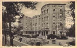 Hungaria Palace Hotel  Lido Veneziz   Um 1910 - Venetië (Venice)