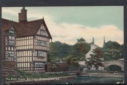 Lancashire Postcard - The Boat Steps, Worsley, Near Manchester   DC1343 - England