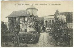 HERSIN-COUPIGNY - Château Decrombecque - Le Châlet Des Roses. ELD E Le Deley 27 - Other Municipalities