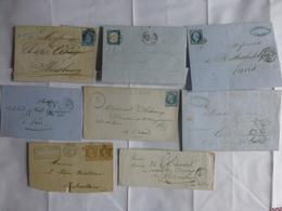 Lettres Et Plis - 1849-1876: Période Classique